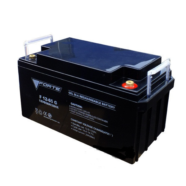 Акумулятор гелевий 12B, 100 А/год, вага 30 кг