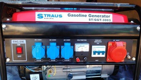 Генератор бензиновый Straus Austria ST/GGT-3003W