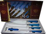 Набір керамічних ножів LIMITED EDITION Versace Мілан 5PCS, фото 2