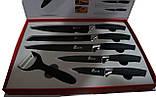 Елітний набір ножів ТМ Swiss & Boch SB-BW5 c антипригарним покриттям, 6 шт, фото 3