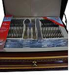 Набір столових приладів Bach & Mayer (Switzerland), 72 предмета, фото 4