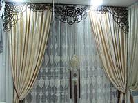 Ажурные ламбрекены и декоративные элементы