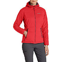 Куртка Eddie Bauer Womens IgniteLite Flux Stretch Hooded Jacket CARNATION S Красная (0030CAR-S)