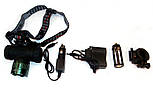 Налобный фонарик Police BL-6821 T6 - 8000W, фото 2