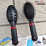Расческа-вибромассажер массажная расческа Massage Hair Brush RM 709, фото 3