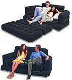 Надувной диван-трансформер 2в1 Intex 68566 Pull-out Chair, фото 2