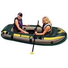 Човен надувний двомісна Seahawk 2 Set Intex 68346