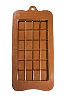 Силиконовая форма для шоколада Плитка шоколада 10,5 см на 21,0 см )