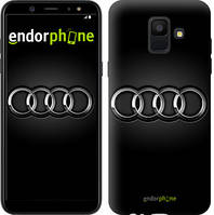 "Чехол на Samsung Galaxy A6 2018 Audi. Logo v3 ""3106c-1480-7794"""