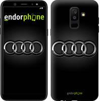 "Чехол на Samsung Galaxy A6 Plus 2018 Audi. Logo v3 ""3106c-1495-7794"""