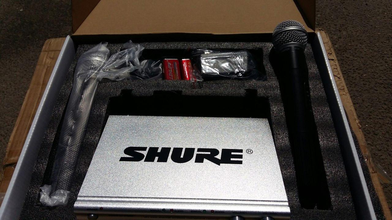 Shure SH-500 радіосистема 2 мікрофона