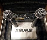 Shure SH-500 радіосистема 2 мікрофона, фото 4