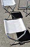 Алюминиевый столик +4 стула , фото 2