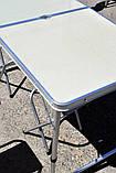 Алюминиевый столик +4 стула , фото 3