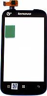 Сенсор LENOVO A318 (оригинал), тач скрин для телефона смартфона
