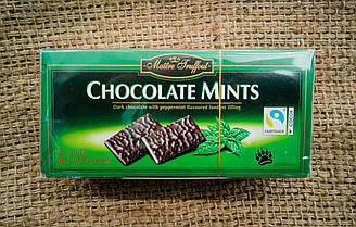 Maitre Truffout Chocolate Mints - Шоколадные пластины с мятной начинкой