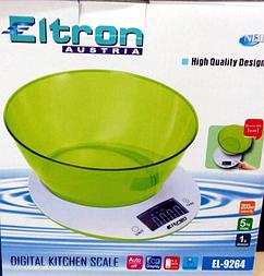 """Ваги кухонні з чашею """"ELTRON"""""""