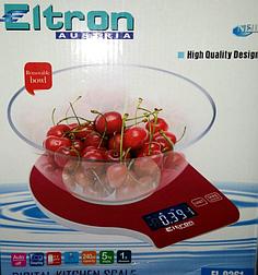 """Весы кухонные """"ELTRON"""""""