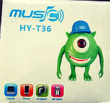 Радіо колонка для дітей multi function speaker HY T36, фото 8