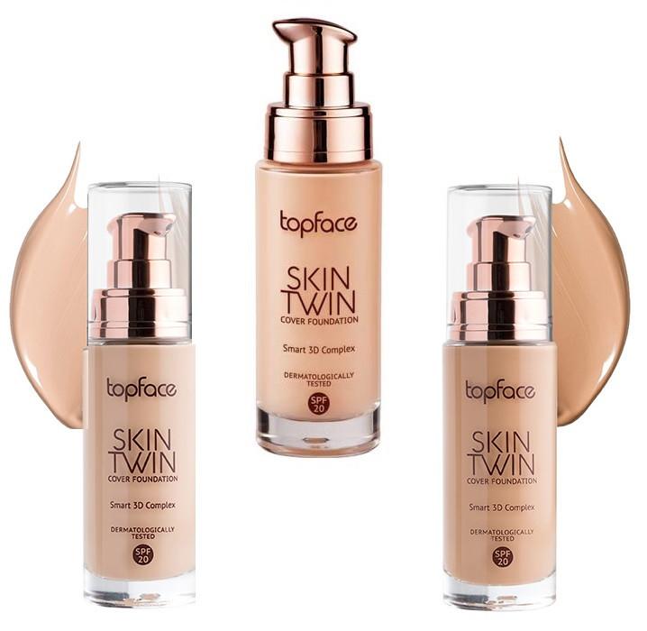 Тональный крем Top Face Skin Twin PT-464
