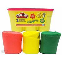 Пластилин Hasbro Play Doh 1. 36kg красный, желтый, зеленый A0950