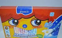 Фломастеры Marco 48цв Super Washable №1630-48