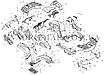 Заглушка ответная часть клыка бампера BRP Can-Am Outlander G2 .705004987, фото 3