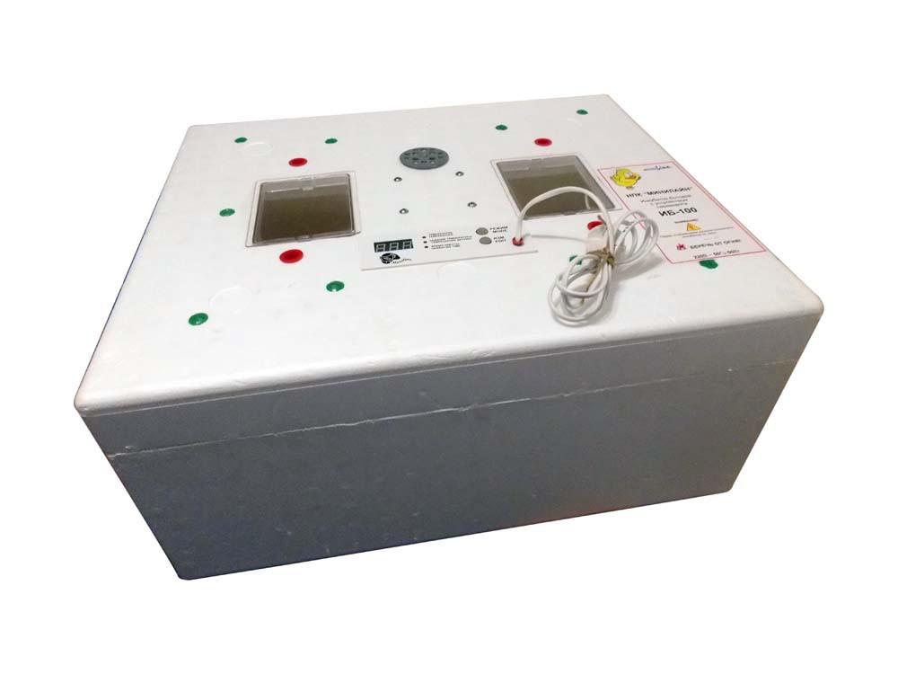 Инкубатор ИБ-100 ЭВМ-2 на 128 яиц/автоматический переворот/