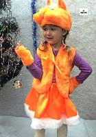 Дитячий карнавальний костюм Білочки рудий