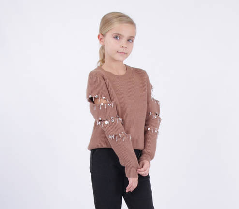Детский свитер для девочки от Bear Richi 286080, рост 140-164, фото 2