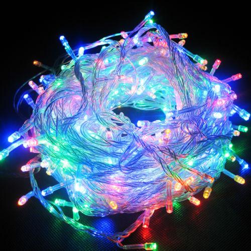 Новогодняя гирлянда 100 led в 100(цветная)