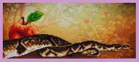 Схема на ткани для вышивания бисером ТМ Картины бисером Искушение 1 S-225