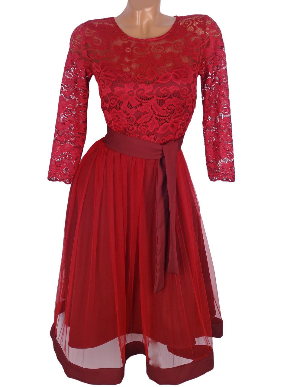 Батальное вечернее платье 48-54 (в расцветках)