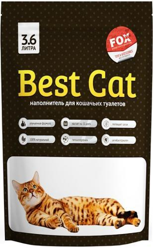 Наповнювач Best Cat Бест Кет силікагелевий для котячого туалету без запаху 3,6л (1,3кг)