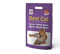 Наповнювач Best Cat Бест Кет сілікагелевий для котячого туалету з лавандою 10л (3.6кг)