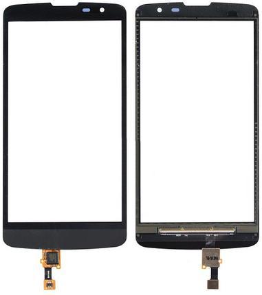 Сенсор LG L Bello D331, D335 Dual Black (оригинал), тач скрин ЛЖ, фото 2