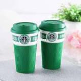 Керамический стакан (чашка) Starbucks Green, фото 2