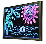 Рекламная светящаяся LED доска 400х300, фото 3