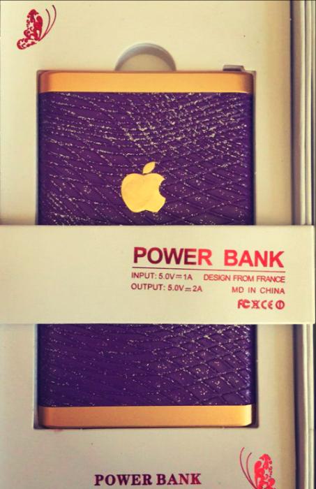 """Портативний зарядний пристрій """"Apple"""""""