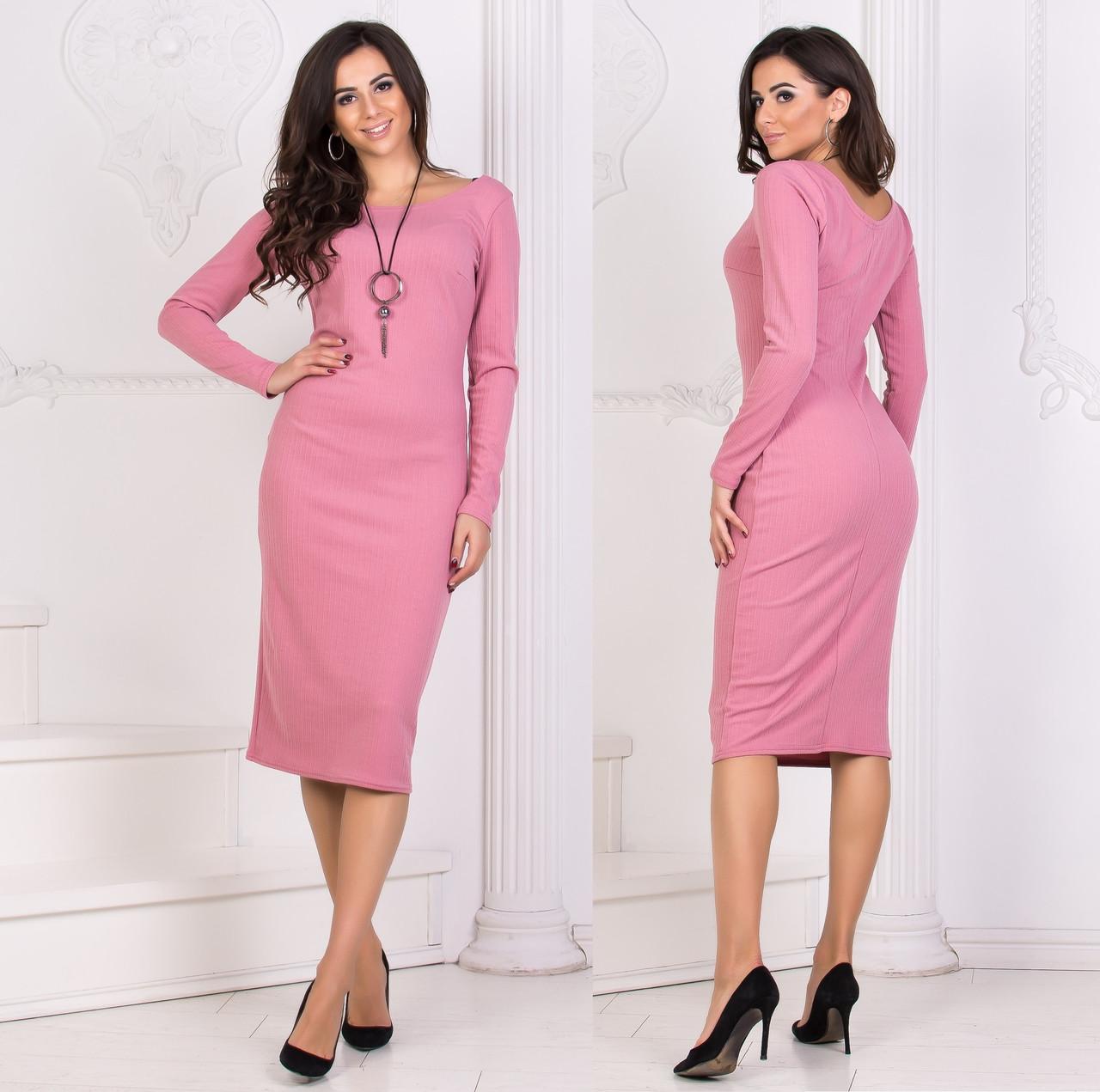 b1159508e00 Купить Повседневное платье миди оптом и в розницу в Одессе от ...