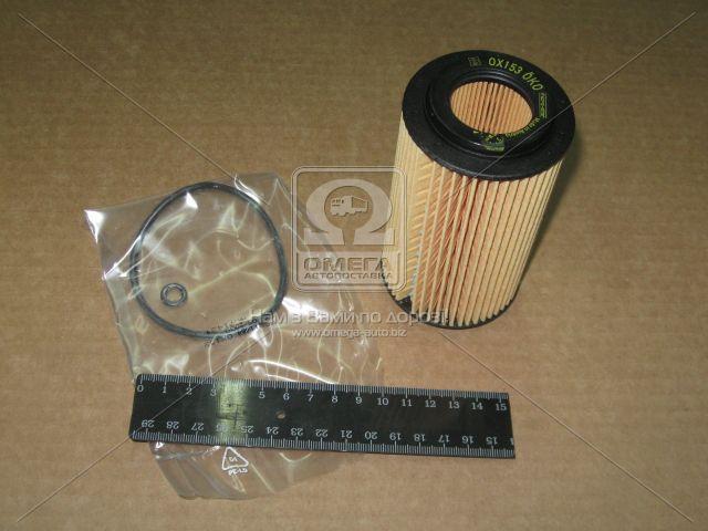 Фильтр масляный (сменныйэлемент) OPEL ASTRA G (производитель Knecht-Mahle) OX153D1