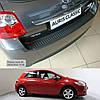 Toyota Auris 3/5dr. 2010-2012 пластиковая накладка заднего бампера