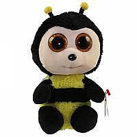 Мягкая игрушка пчелка Базби 16 см
