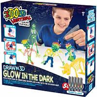 Набор для детского творчества с 3D-маркерами IDo3D Светящиеся в темноте