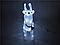 Новорічна акрилова статуя олень RENIFER, що Світяться новорічні олені 24 led, фото 3