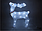 Новорічна акрилова статуя олень RENIFER, що Світяться новорічні олені 24 led, фото 4