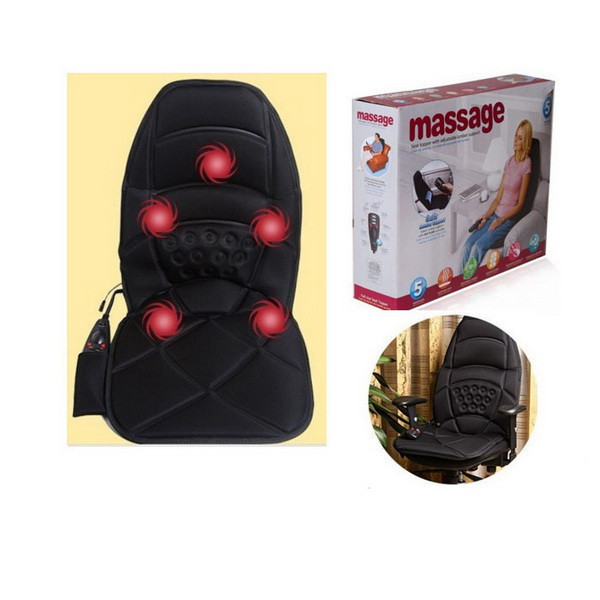 Накидка на стул массажная с подогревом Massage Seat Topper, Массаж Сит Топпер