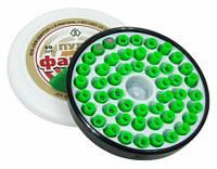 Пули разрывные Фантом 4,5 мм 0,25 грамма (50 шт.) зелёные