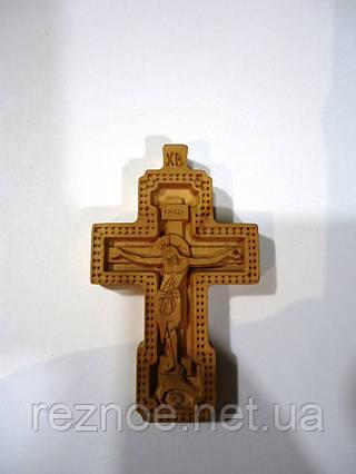 Крест нательный резной №15
