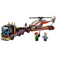 Lego City Перевозка тяжелых грузов 60183
